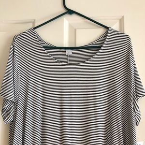 Old Navy Striped Swing Dress XL (NWT)